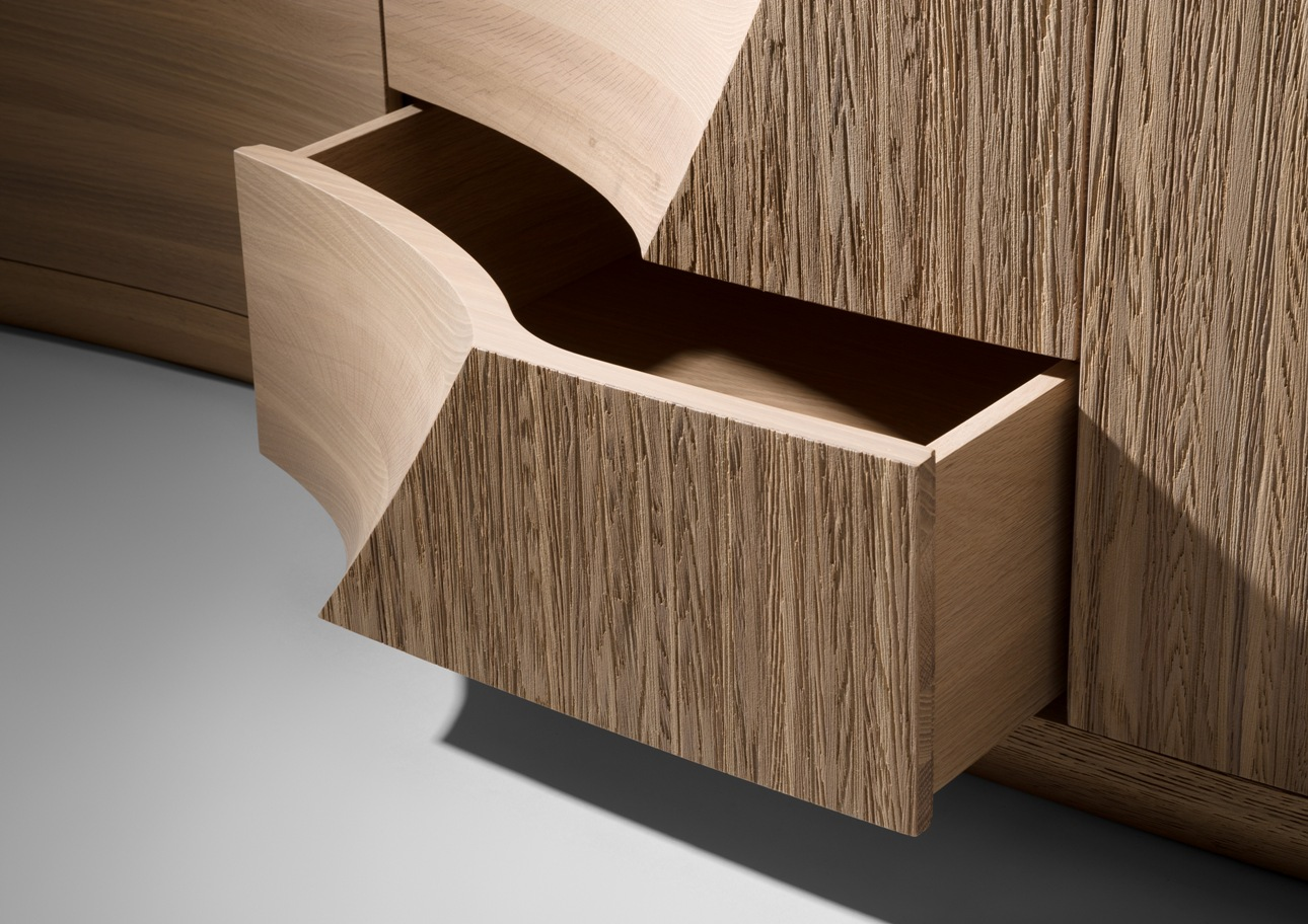 Wave III drawer detail